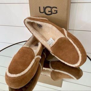 Women's UGG Hailey Moccasin Chestnut Slipper